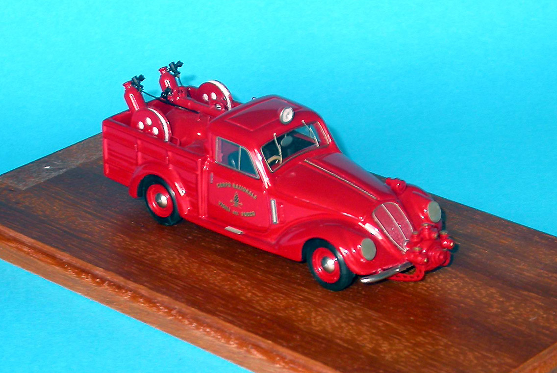 Brianza: Fiat 1500 Fire 1936 (84) in 1:43 scale
